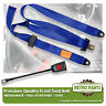 Front Static Seat Belt For Austin FX4 Taxi 1959-1989 Blue