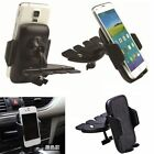 Cell Phone Mount Car Phone Holder CD Slot 360° Rotating for IPhone Samsung GPS