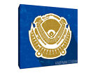 Kansas City Royals - Kauffman Stadium - Seating Map - Gallery Wrapped Canvas on Ebay