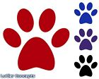 Paw Print Stickers | Cute Pet Paws Vinyl | Animal Cat Dog Prints Decals |options