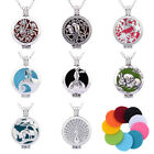 Pad Locket Pendant DIY Necklace Fragrance Aromatherapy Essential Oil Diffuser