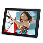 New 15 inch HD LED Digital Photo Picture Frame MP3 MP4 Movie+Remote Control gL