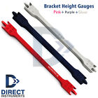 Professional Dental Bracket Height Gauges COLOR SERIES Orthodontic Instruments