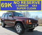 2000+Jeep+Cherokee+NO+RESERVE+69K+MILES+1+OWNER+4X4