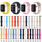 m14 buy - 32# Silicone Sport Wrist Band Strap Replace Apple Watch Band 38/42 Series1-3 Lot