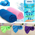 Travel Sport Chilly Cooling Towel Instant Ice Cold Enduring Jogging Gym Yoga image