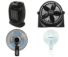 Hurricane Wall Mount Fan - 16 Inch | Classic Series | Wall Fan with 90 Scale Os