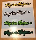 Troy Lee Designs Helmet 150mm Stickers TLD YZF CRF RMF KXF Quad MTB Moto