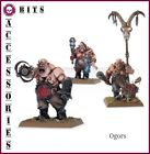 BITS GUTBURSTERS OGORS OGRES KINGDOMS WARHAMMER AGE OF SIGMAR FANTASY BATTLE