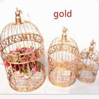 European Style Decorative Bird Cage Window Ornaments White Photography Props