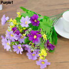 1 Bouquet 28 Heads Artificial Daisy Cloth Flower Sweet Wedding Party Decor Beamy
