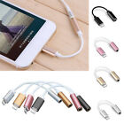 1PC New Lightning Adapter Cable 3.5mm Jack Headphone for Apple iPhone 7/7 Plus