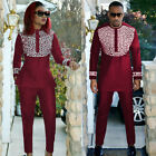 South African 2018 New African Couple Set Africa Men And Women Fashion Clothing