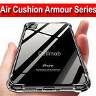 For iPhone 8 7 6 Plus XS Max XR Bumper Shockproof Silicone Protective Case Cover <br/> Air Cushion Armour Case-Limited Offer- 1ST CLASS POST