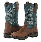 Noble Work Boots Mens Ranch Tough Square Tobacco 65002 FAST FREE USA SHIP