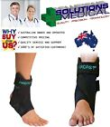 AIRCAST AIRSPORT ANKLE BRACE SUPPORT REHAB PHYSIO BLACK