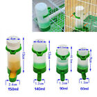 Water Cage Bird Parrot Canary Plastic Budgie Cockatiel Seed Feeder Automatic