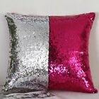 Cushion Cover Stylish Creative Pattern Double Color Sequins Home Car Pillow Case