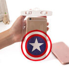 Universal Snow/Waterproof Underwater Dry Bag Pouch Case Captain America's Shield