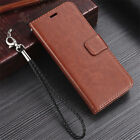 For Smasung Galaxy S9 S8 S7 S6 Plus Magnetic Flip Leather Wallet Card Case Cover