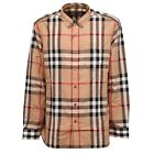 0330W camicia uomo BURBERRY LONDON ENGLAND shirt men