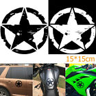New 15*15cm ARMY Star Graphic Decals Motorcycle Vinyl Car-styling Car Stickers