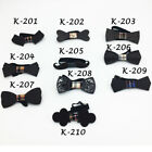 Wooden HandMade Bow Tie Men's Gifts Fashion Handmade Wedding Wood Bowtie Black