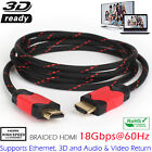 3ft 6ft 10ft Category 2 Certified HDMI Cable High Speed 18Gbps Support Video4K