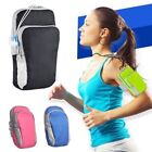 Arm Band Universal Sports Running Bag Pouch Case for iPhone Samsung Zippered