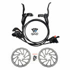 ShimanoM315/M355/M395/MT200 MTB Hydraulic Disc Brakes Set Pre-Filled with Rotors