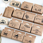 Wood Stamp DIY Wooden Rubber Stamps Scrapbooking Stationery Scrapbooking Stamp