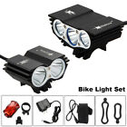 8000LM LED Bike Headlight Bicycle Front & Rear Tail Light Set Cycling Equipment for sale  USA