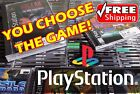 (PSX) Sony Playstation 1 - You choose the game! **FREE SHIPPING**