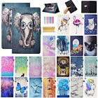 For Amazon Kindle Fire HD 10'' 2017 Folio Stand Smart Patter