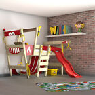 WICKEY CrAzY Smoky Loft bed Children's Single Bed Adventure bed with slide