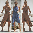 USA Women Summer Boho Dress Formal Party Cocktail Skirt Ladies Clubwear Sundress