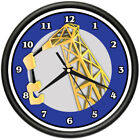 CARPENTER Wall Clock tools workshop woodworker new gift