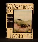 1936 Fabre's Book of Insects Mrs Rodolph Stawell E J Detmold Colour Plates