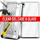 Luxury Ultra Slim Shockproof Silicone Clear Case Cover for Sony Xperia Models