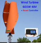 Vertical Axis Residential Home use Wind Turbine Generator 400W 500W 600W 48V