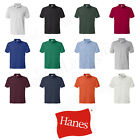 Hanes 054X Golf Tee Blended Jersey Sport Shirt Mens Polo golf shirt from S-3XL