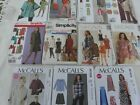 Simplicity Plus Size Sewing Patterns Women's Clothing Size 16 to 32 U-PICK