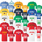 WORLD CUP TEAM TSHIRT JERSEY ALL TEAMS RUSSIA 2018 FOOTBALL CUP SOCCER WORLD CUP