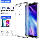 LG G7 ThinQ Case, Ultra Hybrid Bumper Slim HARD Cover With Screen Protector