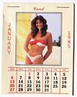 Vtg 1985 Snap On Tool Mini Pocket Calender (Girls In Bathing Suits) Pin Up Sexy