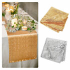 Glitter Sequin Table Runner Tablecloth Sparkly Wedding Party Home Table Decor