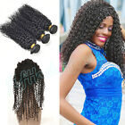 Malaysian 8A Kinky Curly Human Virgin Hair 300g w/360 Lace Frontal Lace Closure