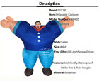Hercules Fancy Dress Inflatable Blow Up Costume Sailor Weight Lifting Mr Fitness