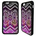 Indian henna sari pattern print case cover for iphone 5 5c SE 6 6S 7 8 plus X