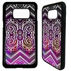 Indian henna sari pattern print case cover for Samsung Galaxy S6 S7 S8 S9 plus